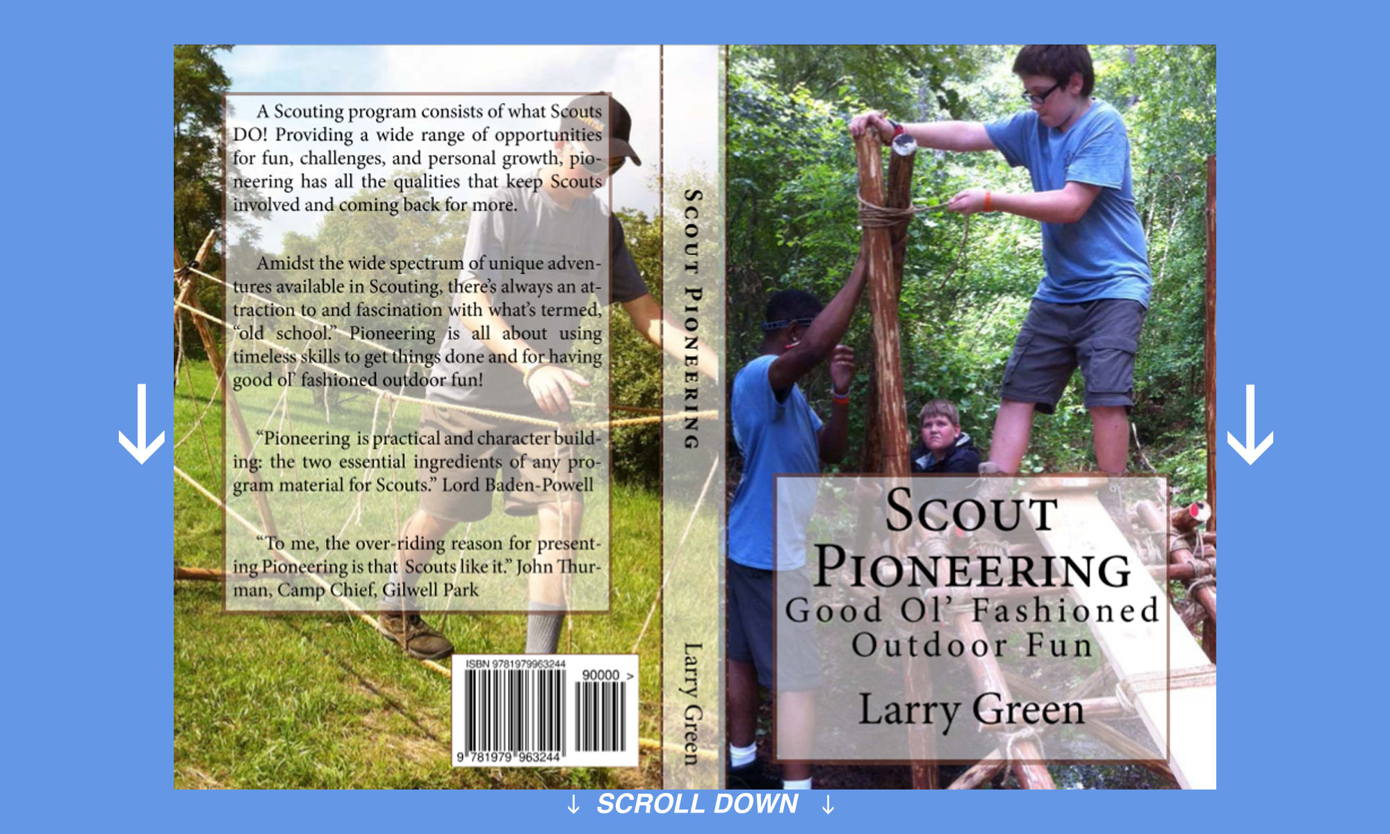 Scout Pioneering Book